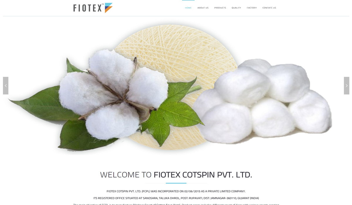 FIOTEX COTSPIN PVT. LTD.