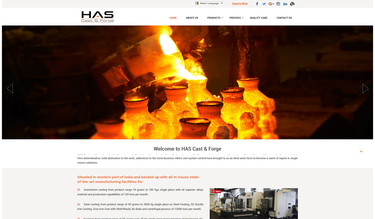 Has Cast and Forge